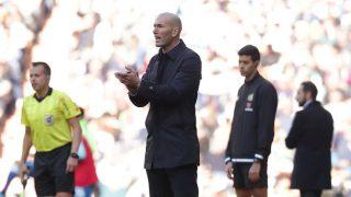 Zidane, durante un partido. (Getty)