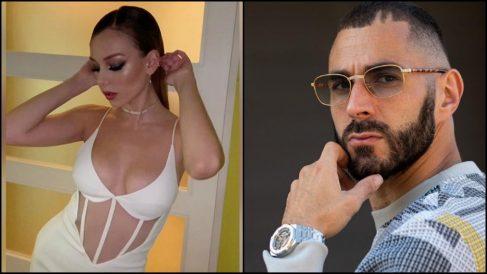 Ester Expósito y Karim Benzema.