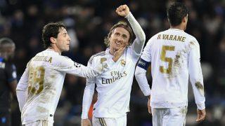 Modric celebra un gol. (AFP)
