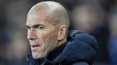 Zidane, durante un partido. (AFP)