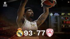 El Madrid no tuvo piedad de Olympiakos.