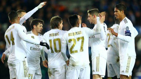 El Real Madrid confía en sus posibilidades en Champions, pase lo que pase en el sorteo de octavos (Getty).