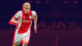 El Ajax se marchó a la Europa League y Van de Beek podría salir fácilmente.