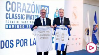 El Real Madrid y el Oporto jugarán el Classic Match el 29 de marzo en el Bernabéu. (Realmadrid.com)