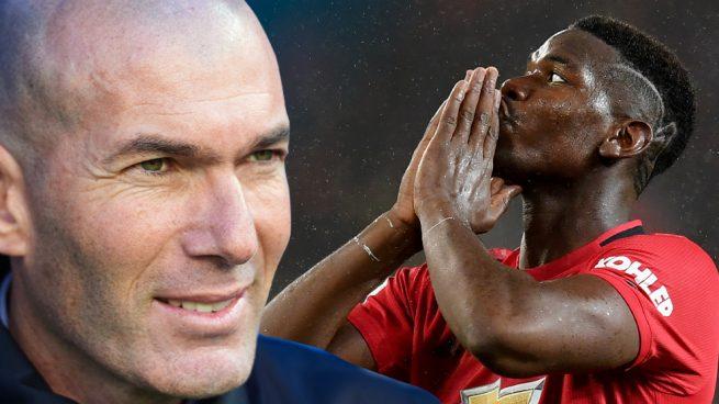 Zidane mantiene el pulso por Pogba