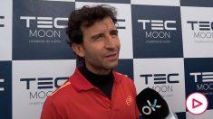 Luis Milla, en el clínic de TEC MOON. (Vídeo: Víctor Jiménez)
