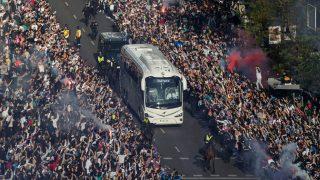 Real Madrid y Barcelona irán blindados al Camp Nou. (Getty)