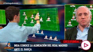 Zidane prepara dos sorpresas para la alineación del Clásico.