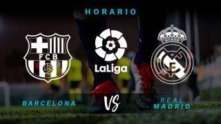 Barcelona vs Real Madrid: horario y dónde ver en directo por televisión