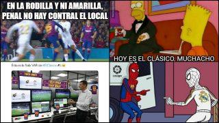 Los mejores memes del Clásico entre Barcelona y Real Madrid.