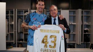 Ramos se convirtió en el jugador con más Clásicos de la historia. (Realmadrid)