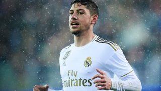Valverde es uno de los hombres más en forma del Madrid.