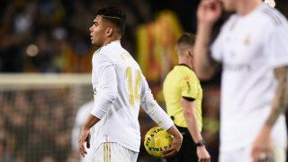 El Real Madrid tiene que sobrevivir sin Casemiro ante el Athletic (AFP).