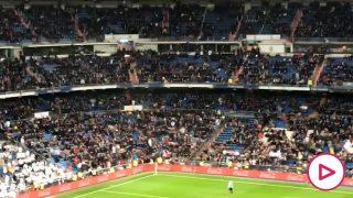 Pitada en el Bernabéu al explicar el funcionamiento del VAR.