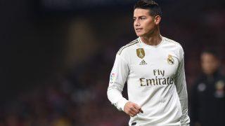 James Rodríguez no va a salir del Real Madrid hasta verano.