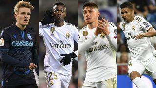 La política de fichajes del Real Madrid funciona y sus jóvenes promesas alcanzan los 750 millones.