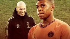 Zidane prepara un Real Madrid para Mbappé.