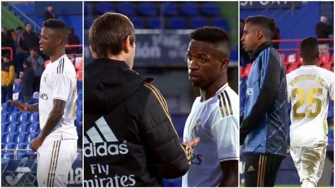La secuencia de lo ocurrido con Vinicius tras el Getafe-Real Madrid.