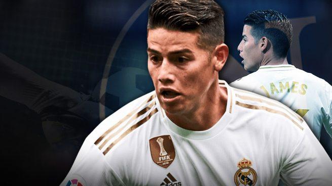 El Madrid ofrecerá a James en la 'Operación Fabián'