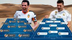 Valencia y Real Madrid se enfrentan en la Supercopa de España.