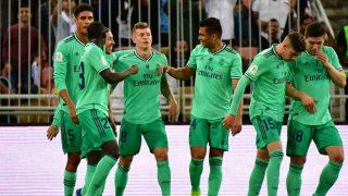 Valencia – Real Madrid: Partido de la Supercopa de España 2020, en directo