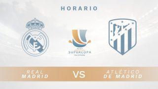 Real Madrid – Atlético de Madrid: Hora y dónde ver en directo la final de la Supercopa de España 2020