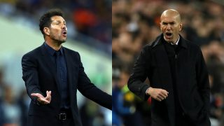 Zidane y Simeone se verán las caras por décima vez en la final de la Supercopa de España 2020.