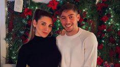 Valverde junto a su novia. (Instagram)
