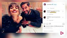 Isco canta junto a sus hijos y Sara Sálamo. (Instagram)