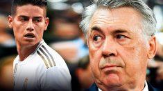 Ancelotti mete prisa a James Rodríguez.