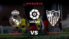 Liga Santander 2018-2019: Real Madrid – Sevilla | Horario del partido de fútbol de Liga Santander.