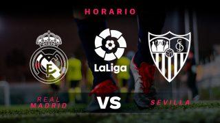 Liga Santander 2018-2019: Real Madrid – Sevilla   Horario del partido de fútbol de Liga Santander.