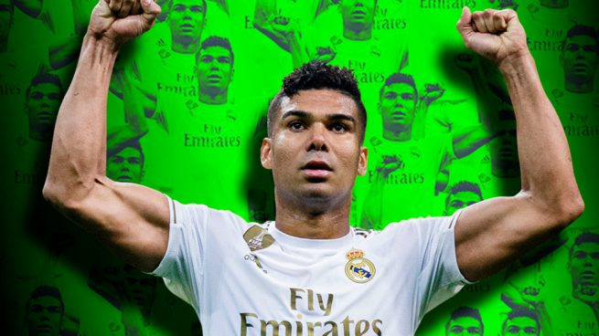 Casemiro, el futbolista total
