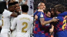Real Madrid y Barcelona dejan la Liga en cosa de dos.