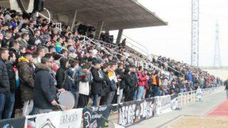 Aficionados del Unionistas en Las Pistas. (Imagen: unionistascf.com)