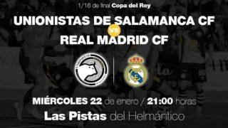 El Real Madrid se enfrentará al Unionistas en Copa del Rey.