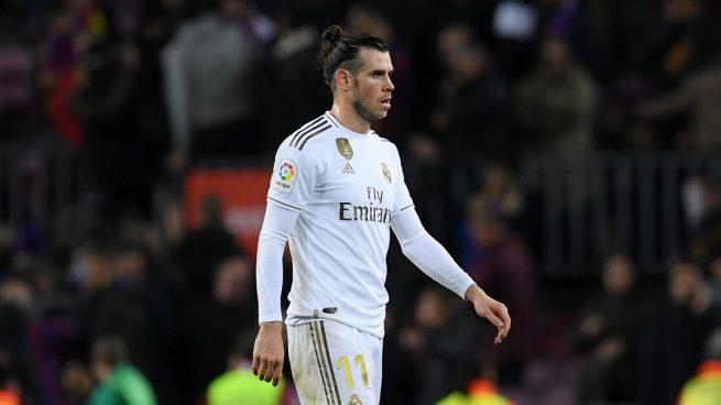 Gareth Bale, durante un partido con el Real Madrid (Getty).