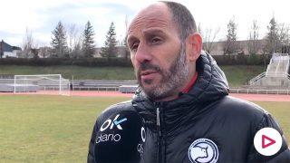 Jabi Luaces, entrenador del Unionistas.