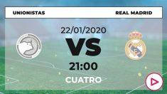 Copa del Rey 2019-2020: Unionistas de Salamanca – Real Madrid| Horario del partido de fútbol de Copa del Rey.