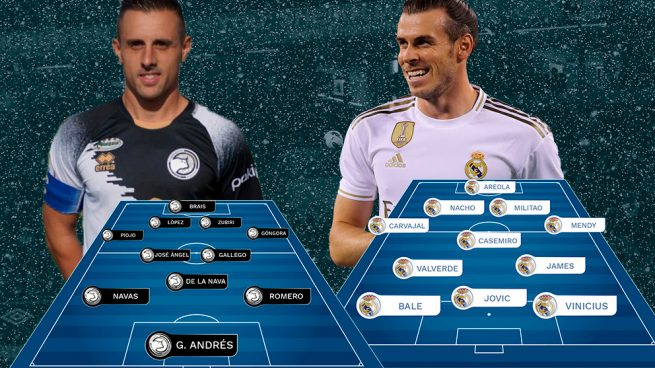 Unionistas De Salamanca Real Madrid Copa Con Hielo