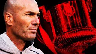 Zidane, ante su gran cuenta pendiente.