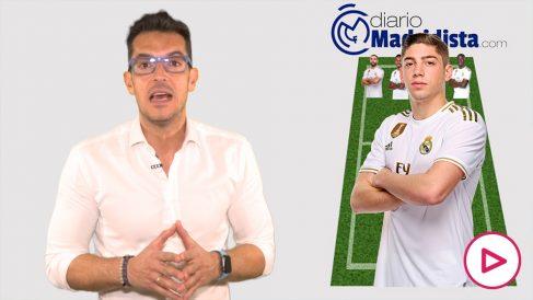 El Real Madrid se enfrenta al Unionistas de Salamanca en Copa del Rey.