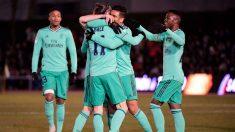 Unionistas vs Real Madrid, partido de Copa del Rey, en directo
