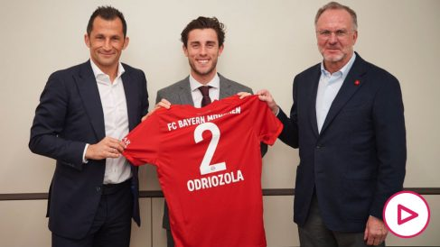 Odriozola ya es nuevo jugador del Bayern.