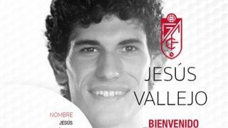 Jesús Vallejo jugará lo que resta de temporada en el Granada. (Foto: granadacf.es)