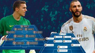El Real Madrid visita Valladolid para ponerse líder en solitario.