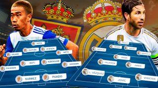 El Zaragoza recibe al Real Madrid en octavos de la Copa del Rey.