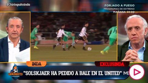 Inda adelantó el interés del United en Bale.