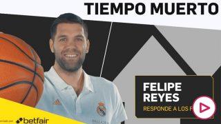 Felipe Reyes, leyenda del Real Madrid.