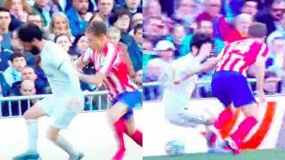 La mágica jugada de Isco que puso en pie al Bernabéu.